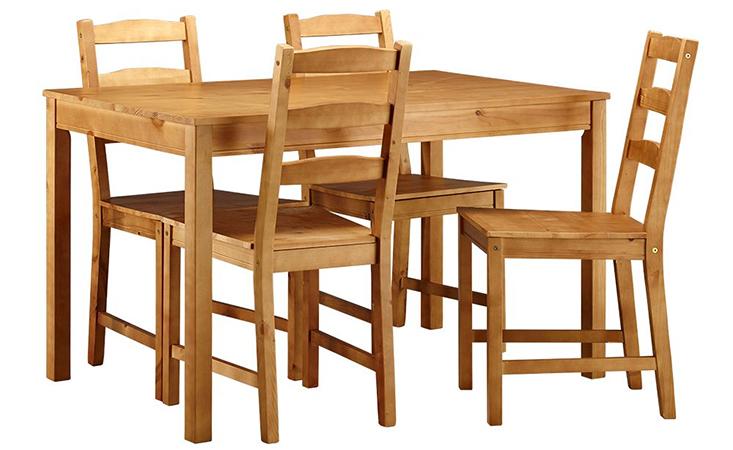 Bộ bàn ăn có trọng lượng nhẹ
