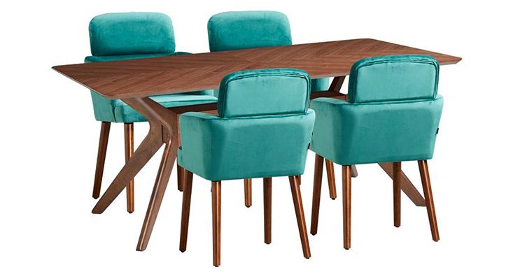 Bộ bàn 4 ghế PRINCETON