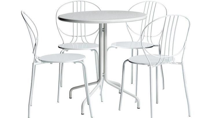 Bộ bàn và 4 ghế ngoài trời CAFE ROYALE