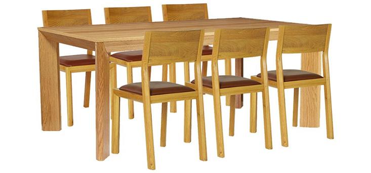Bộ bàn & 6 ghế ăn ATTILA