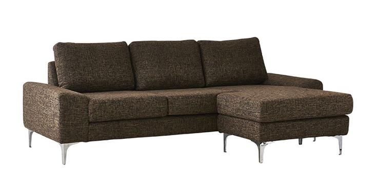 Ghế sofa màu ghi nâu sang trọng