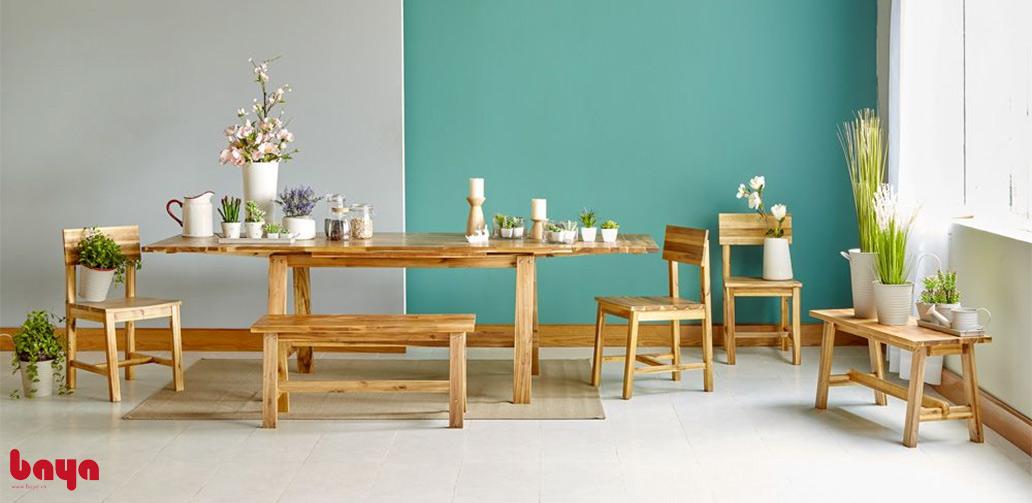 Bộ bàn & 4 ghế ăn