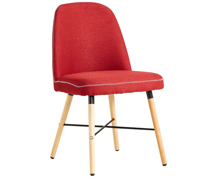 Ghế ăn JOHNSON màu đỏ nổi bật cho căn bếp