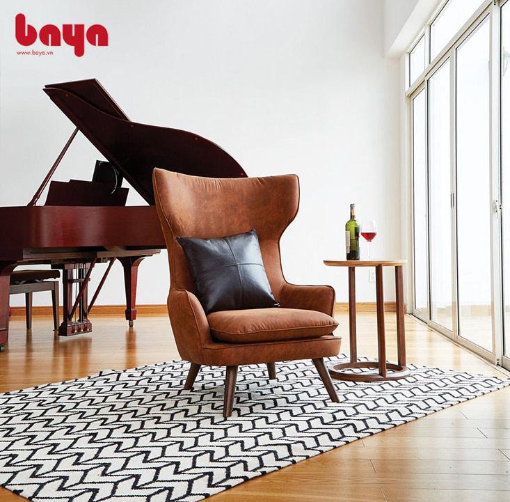 Ghế bành dễ dàng di chuyển đến nhiều vị trí khác nhau