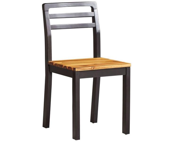 Ghế ăn 4 chân 2 màu