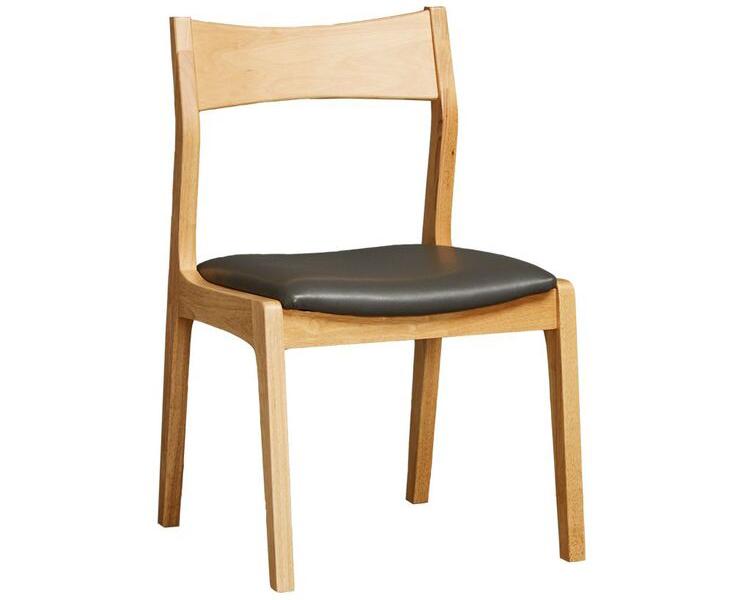 Ghế ăn phần chân và khung có gỗ sáng màu