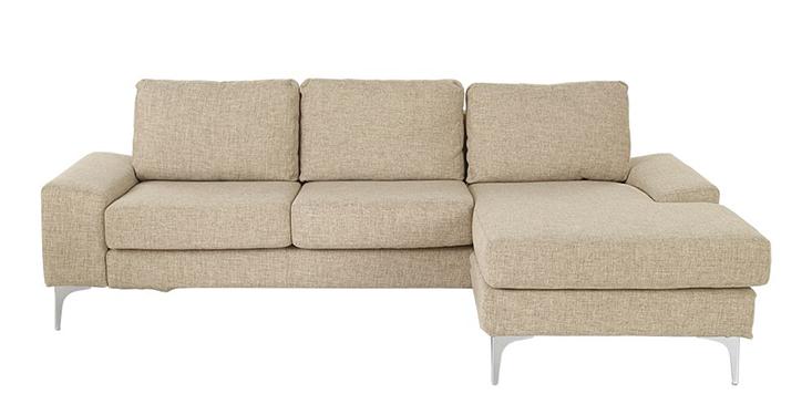 Sofa kèm ghế nằm Narbonne màu be