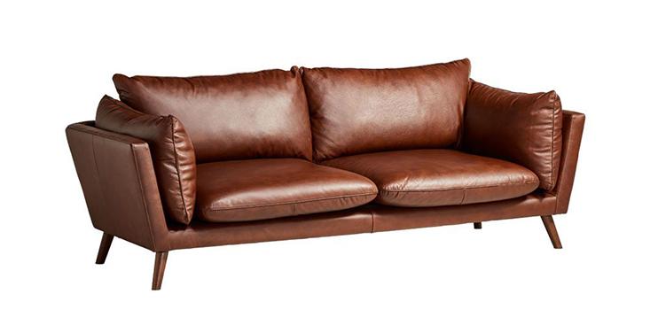 Ghế sofa Connemara có khung và chân ghế gỗ tự nhiên