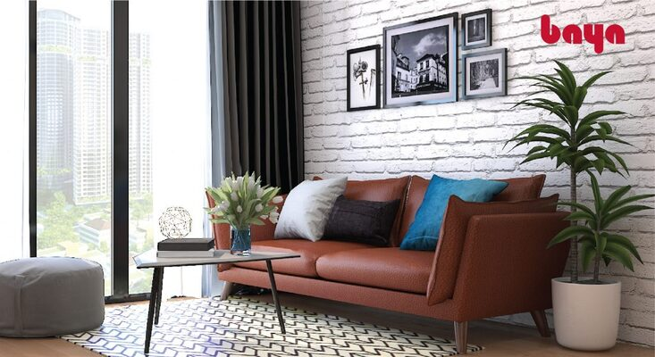 Loại ghế sofa tại góc phòng