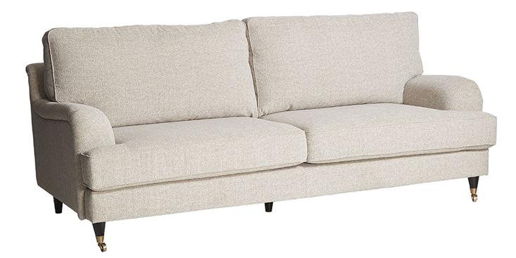 Ghế sofa Hackman màu be mang vẻ đẹp thanh lịch