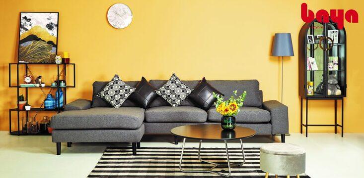 Kê sofa nối liền với nhau