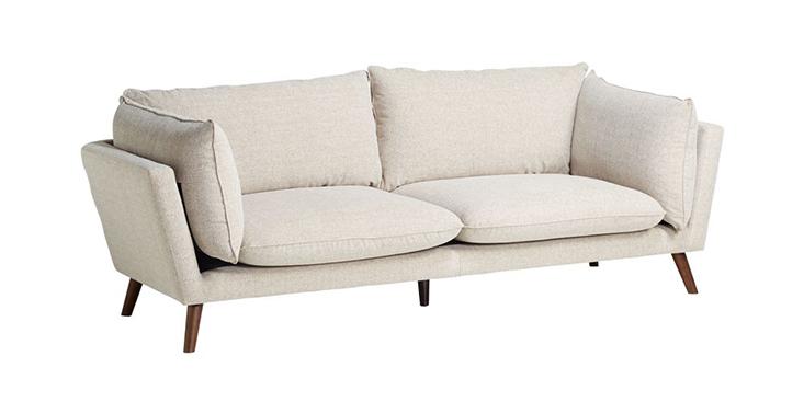 ghế sofa vải polyester màu be