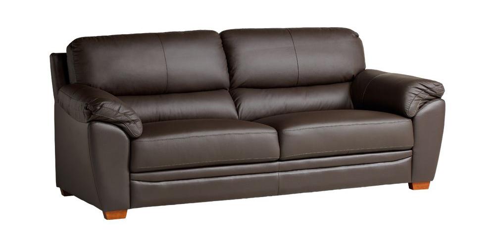 Ghế sofa Stamford màu nâu đậm mang vẻ đẹp sang trọng, ấm áp