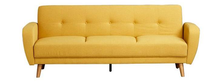 Mẫu ghế sofa giường Bumblebee màu vàng