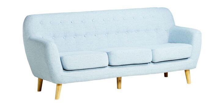 Ghế sofa văng Simpson màu xanh dương