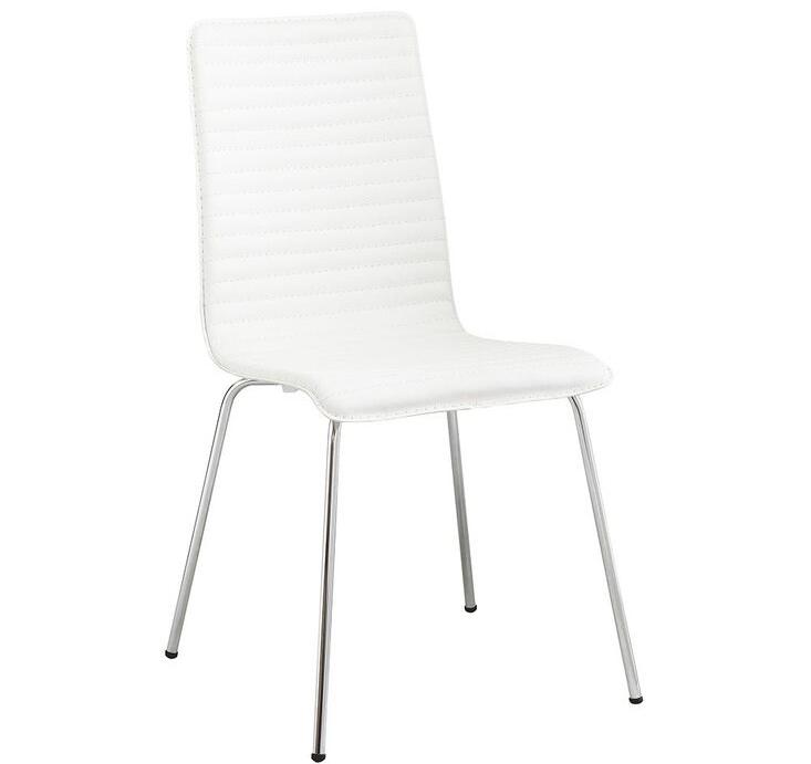 Ghế ăn COSSACK bằng nhựa màu trắng