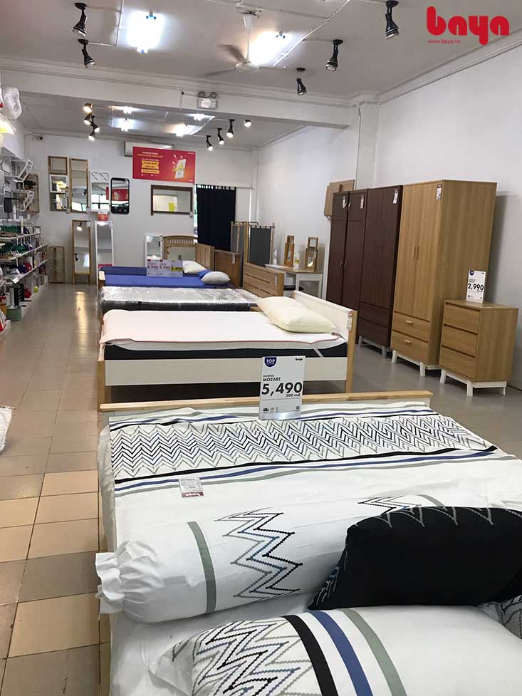 Các sản phẩm giường 1m2 của BAYA