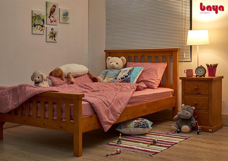 Giường 1m2 phù hợp cho các bé
