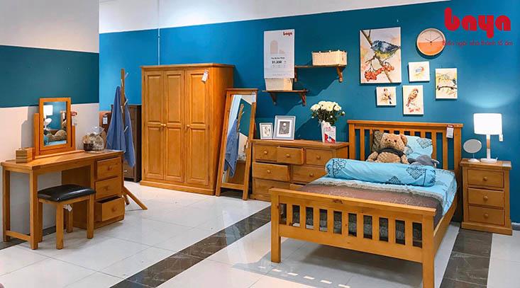 Giường 1m2 có đầu giường độc đáo