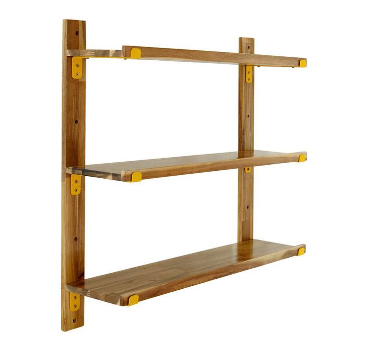 Kệ gắn tường Catch làm từ gỗ tự nhiên