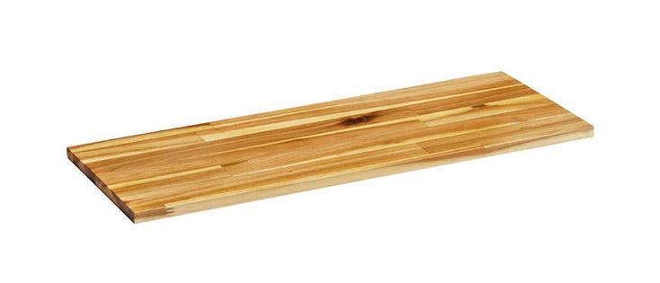 Kệ gắn tường Lokko màu nâu vân gỗ đơn giản