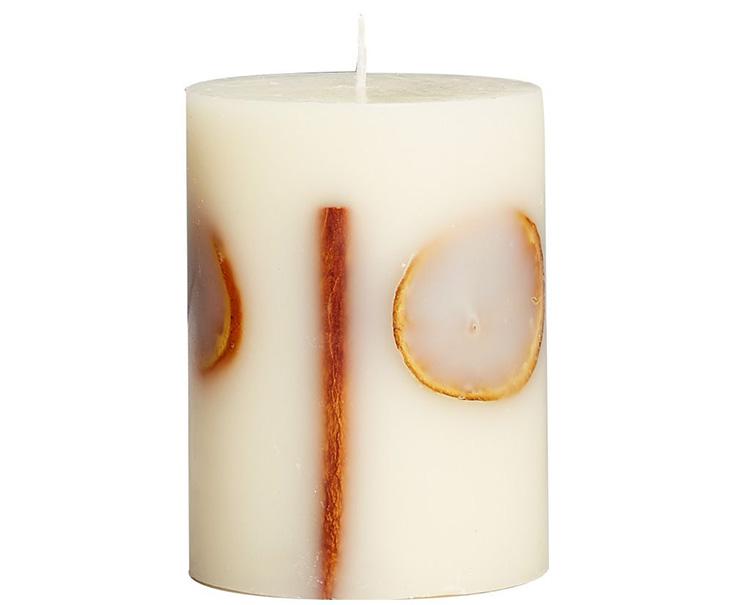 Nến trụ IDUN kết hợp hương cam và thanh quế