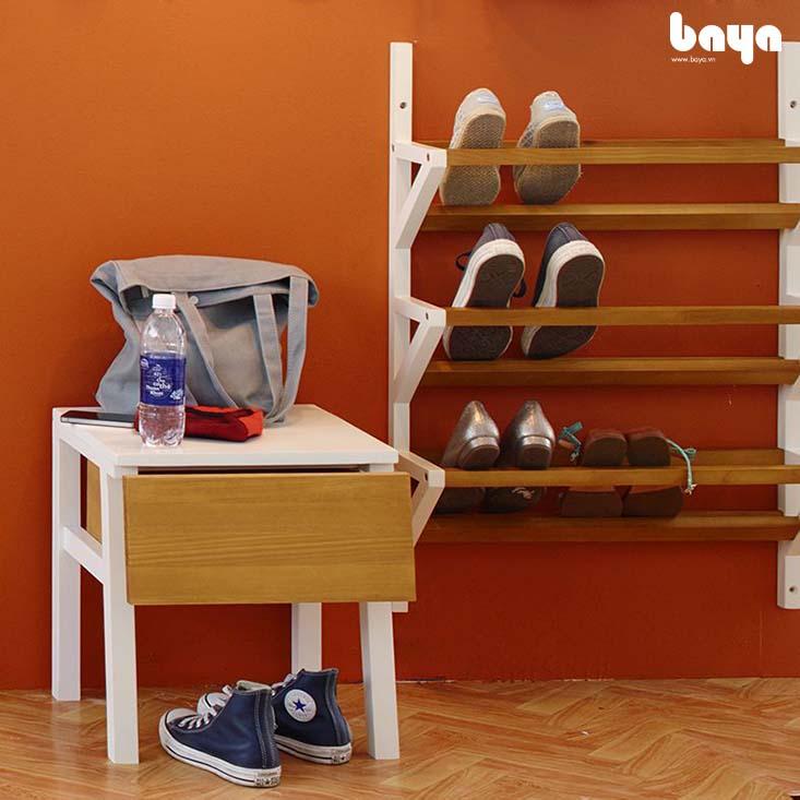 Tủ kệ giày EDEN gắn tường tiện lợi