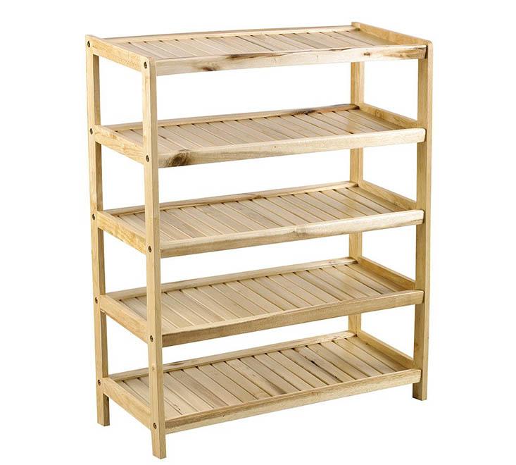 Tủ kệ giày TOBAGO 5 tầng bằng gỗ chắc chắn