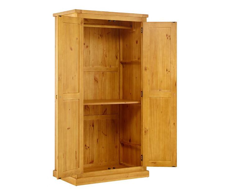 Tủ quần áo ALI có 2 ngăn chứa đồ rộng rãi
