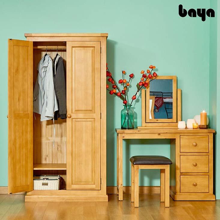 Tủ quần áo ALI kết hợp cùng bàn trang điểm