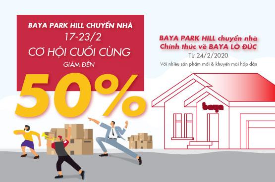 BAYA PARK HILL CHUYỂN NHÀ