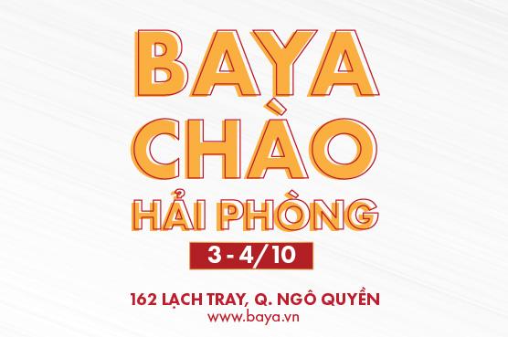 BAYA XIN CHÀO HẢI PHÒNG THÁNG 10