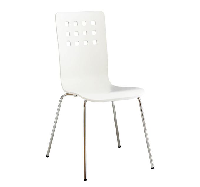 Ghế ăn màu trắng Bavaria hiện đại và sang trọng