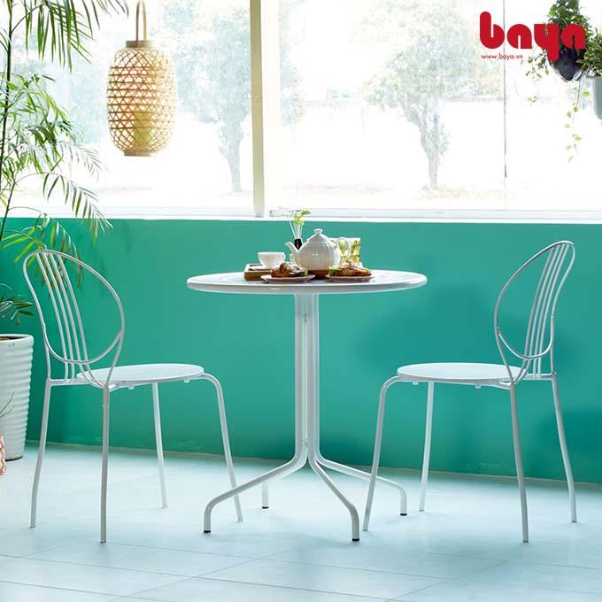 Tuyển chọn 3 mẫu ghế ăn màu trắng hiện đại, tinh tế nhất tại BAYA