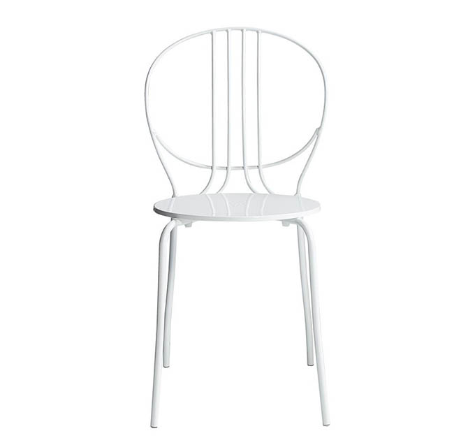 Ghế ăn màu trắng Royale thanh thoát và tinh tế