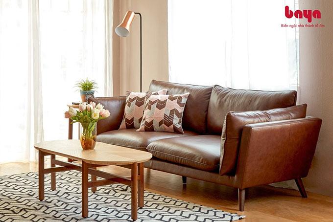 Vệ sinh ghế sofa da tốt sẽ tránh sự bong tróc