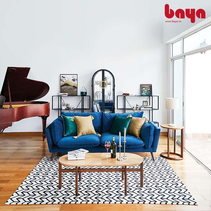 Tuyển chọn 4+ mẫu sofa bọc nhung CAO CẤP tại BAYA