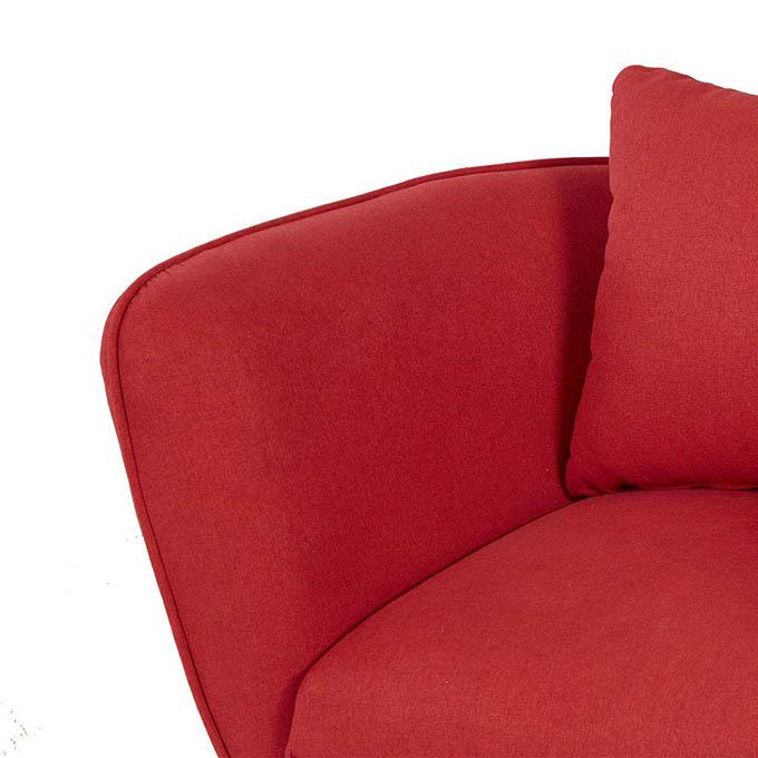 Ghế sofa nỉ Funky làm từ sợi Microfiber