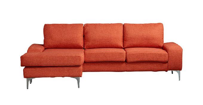 Sofa chữ L Narbonne màu cam trẻ trung