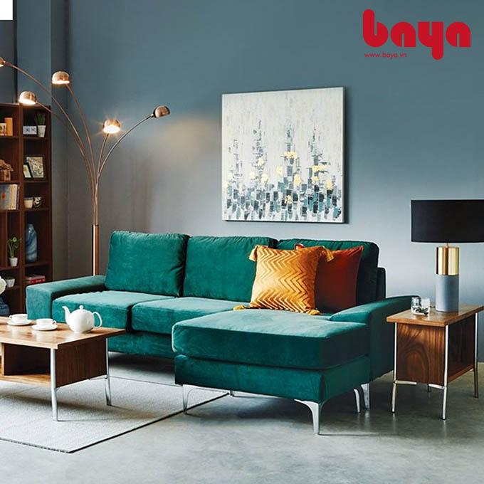 Sofa chữ L Narbonne cùng bàn trà