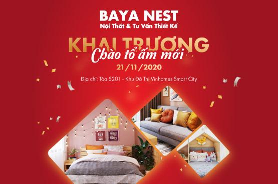 BAYA NEST VINHOMES SMART CITY KHAI TRƯƠNG – CHÀO TỔ ẤM MỚI